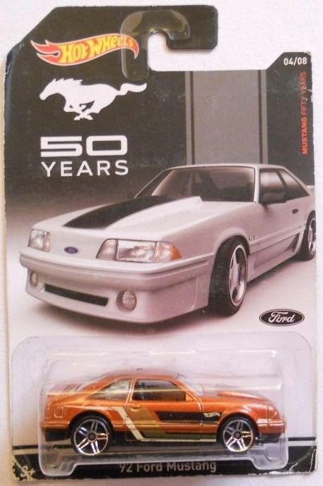 Hot Wheels 2014, Mustang 50 Years, ´92 Ford Mustang