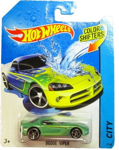 hot wheels - 2014 shifters color - city 32/48 - dodge viper