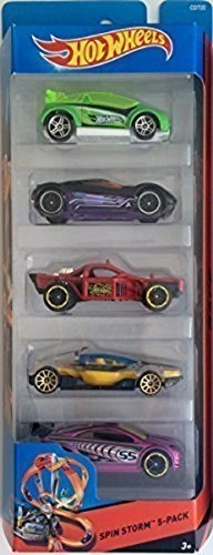 hot wheels 2015 hw city spin storm 5pack