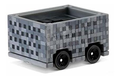 hot wheels 2016 exclusivo minecraft 6-car set & amp; ride-on