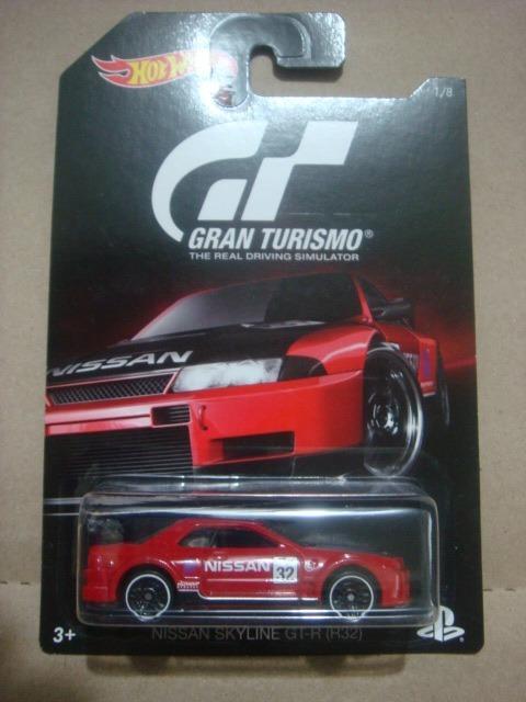 Hot Wheels 2016 Nissan Skyline Gt-r R32 Gran Turismo 1 8