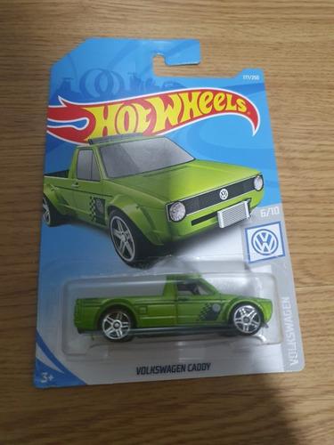 hot wheels 2017 volkswagen caddy pickup verde