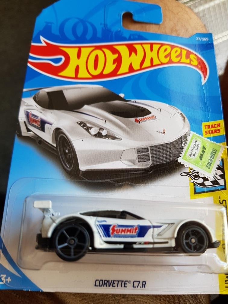 2018 Hot Wheels HW Speed Graphics Corvette C7.R #27