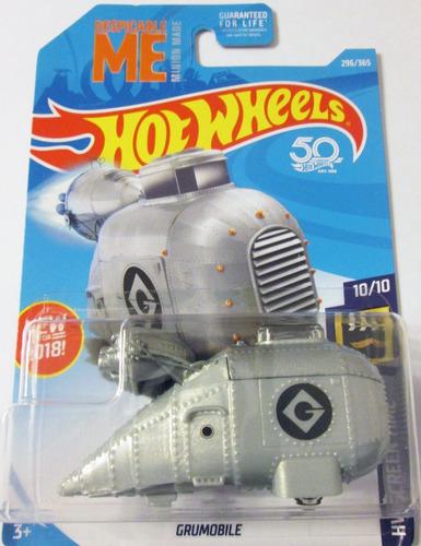 hot wheels 2018, grumobile - me minion, escala 1:64