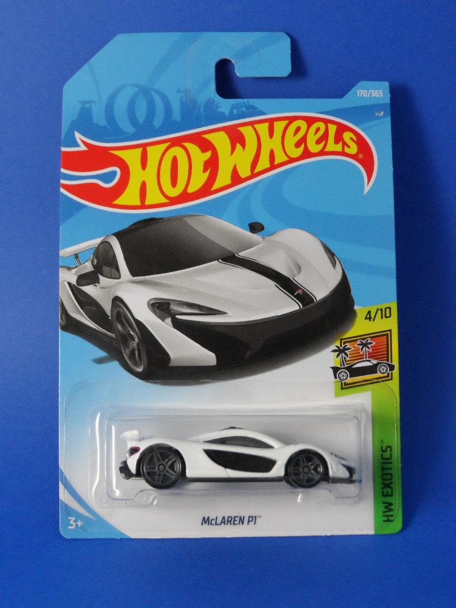 Hot Wheels 2018 Mclaren P1 Hw Exotics Blanco 6900 En Mercado Libre Mc Laren Cargando Zoom