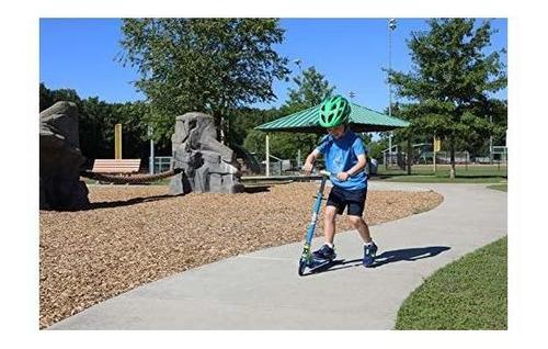 hot wheels 4 & quot; scooter plegable, azul