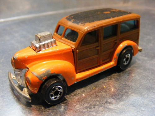 hot wheels - '40's woodie (hi-rakers) de 1980 hong kong #1