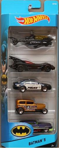 hot wheels 5 pack batman 2015