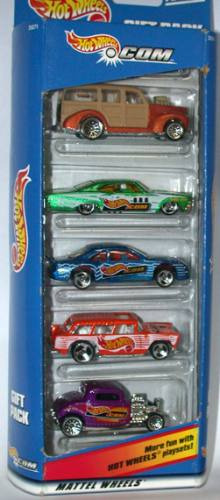 hot wheels 5 pack .com (lacrado)