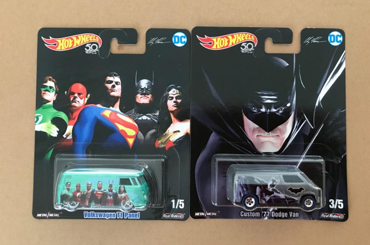 53aa82f836 Hot Wheels 50 Aniversario Dc Comics Alex Ross Batman -   464.00 en ...