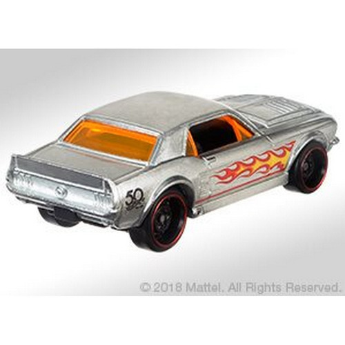 hot wheels 50 anos zamac - 67 ford mustang coupe