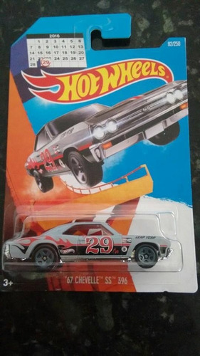 hot wheels 67 chevelle ss 396 ano bissexto 2016