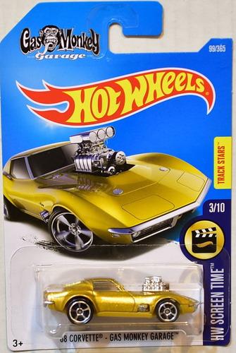 Hot wheels 39 68 corvette gas monkey garage 2017 novo r for Garage jm auto audincourt