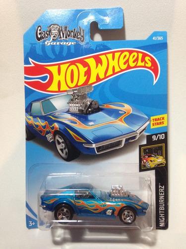 hot wheels 68 corvette gas monkey garage