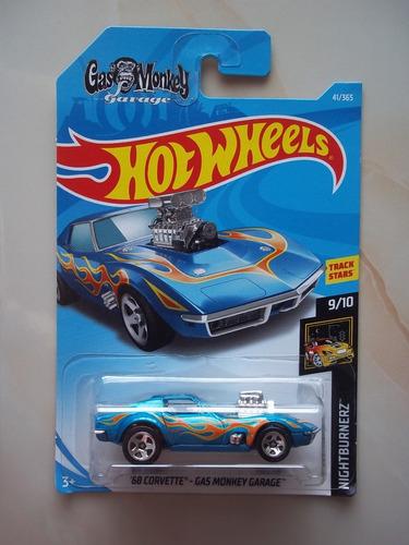 hot wheels '68 corvette- gas monkey garage