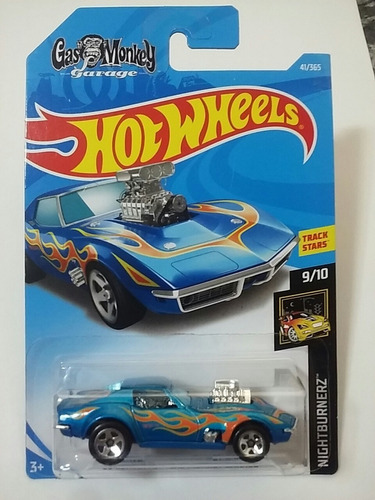hot wheels 68 corvette gas monkey garage mattel nuevo