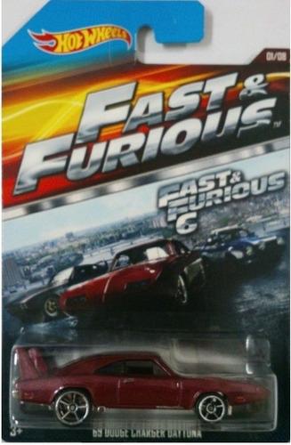 hot wheels 69 dodge charger daytona fast furious velozes