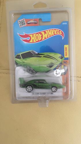hot wheels 69 dodge chargersth $th super - llantas de gomas