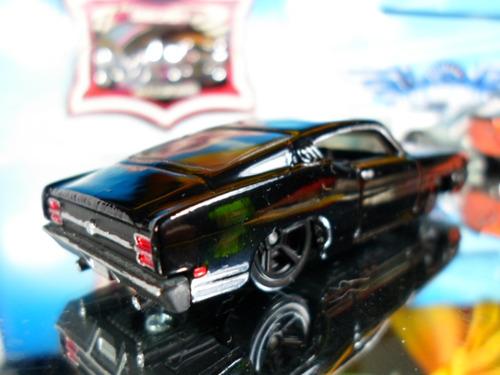 hot wheels 69 ford torino talladega  black bandit  macdonis