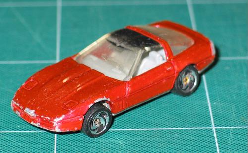 hot wheels 80´s corvette hecho en 1982