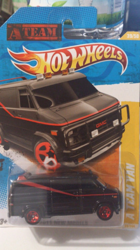 hot wheels a team van