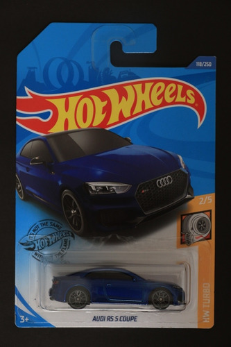 hot wheels audi rs 5 cupe azul