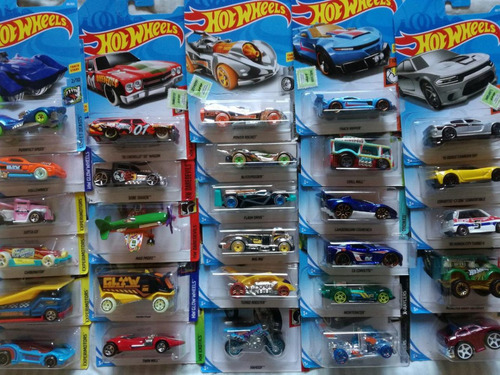 hot wheels autitos coleccion lote x 10 mattel