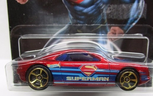 hot wheels auto carro superman escala 1/64 de coleccion