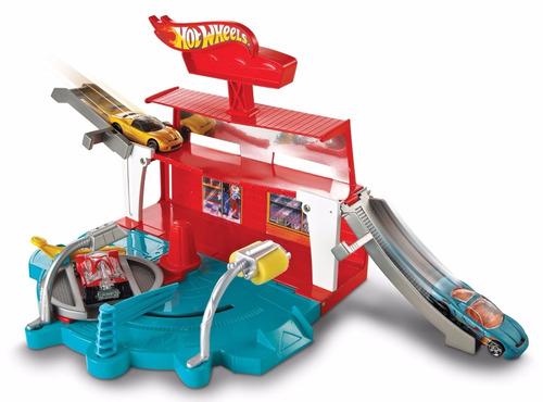 hot wheels autolavado rampas vueltas  jugueteria bunny toys