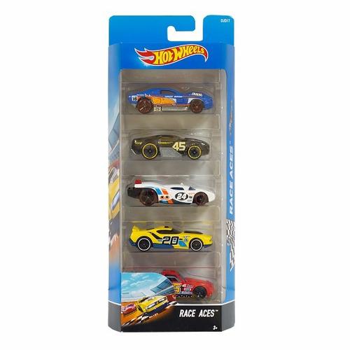 hot wheels autos surtidos pack x5 hotwheels original mattel