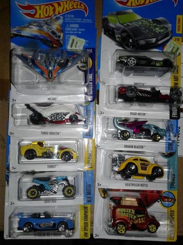 hot wheels autos surtidos x 10