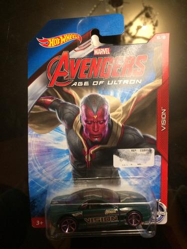 hot wheels avengers: vision