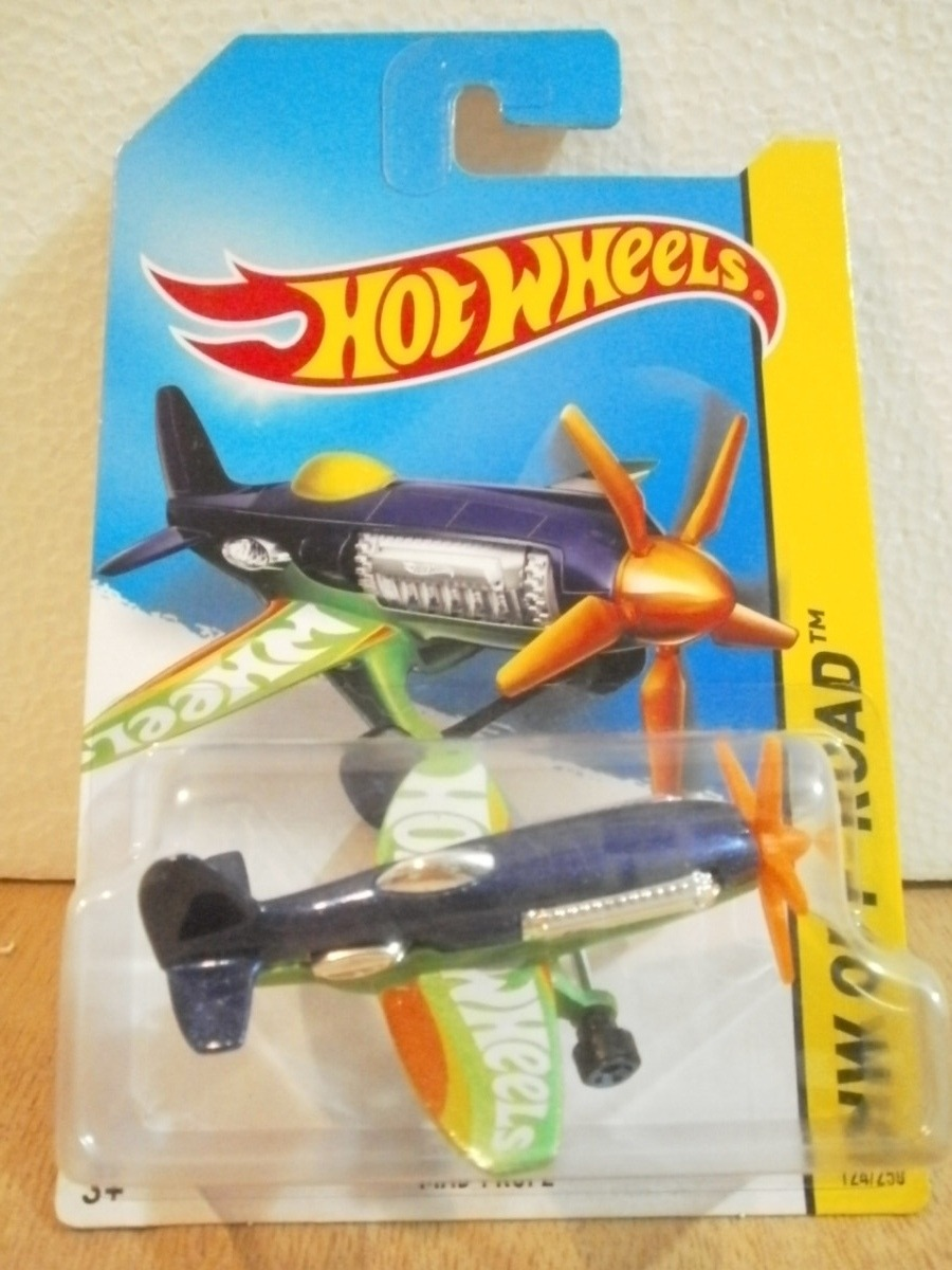 Hot wheels avion mad propz azul 124 250 2014 en - Avion hot wheels ...