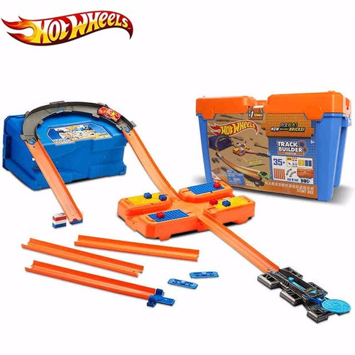 hot wheels balde kit completo track builder  mattel dww95