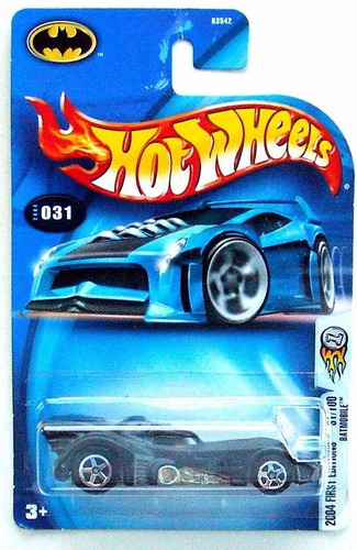 hot wheels batimovil batmobile keaton  2004 # 31 solo envios