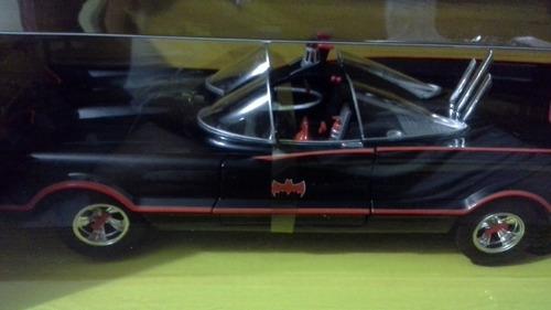 hot wheels batman 1966 tv series batmobile esc. 1:18 {100v}