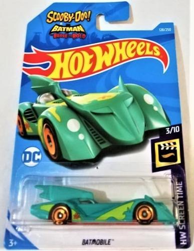hot wheels batman batmobile scooby doo 2018