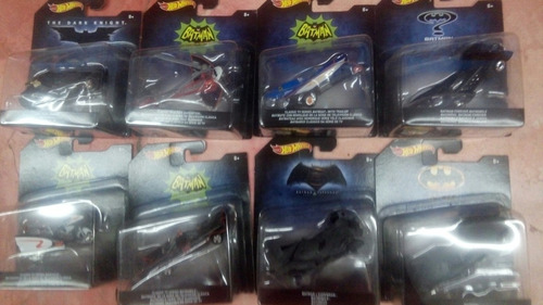hot wheels batman colección completa set 8