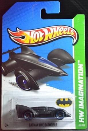 hot wheels batman  live batmobile hw imagination