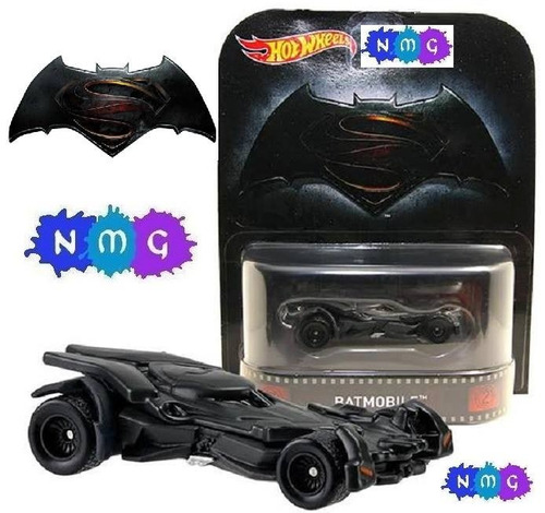 hot wheels batman vs superman batmobile batimovil nmg!!