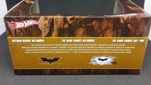 hot wheels batmobile 3 pack batman begins dark knight