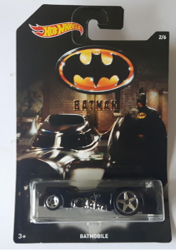 hot wheels batmobile batman batimovil 2/6