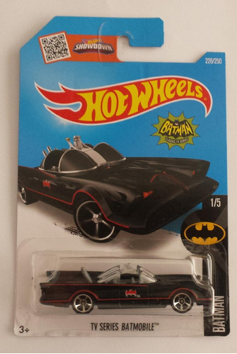 hot wheels batmobile tv series batimovil batman 1/5