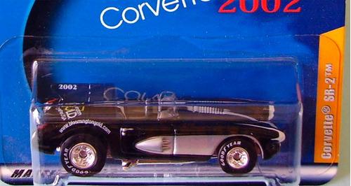 hot wheels bloomington gold corvette sr2 (lacrado)