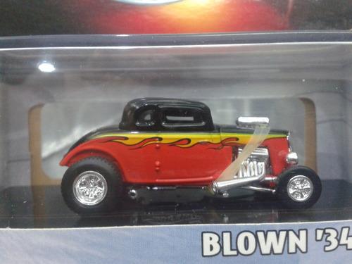 hot wheels - blown 34 ford 100% en caja del 2000