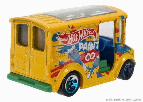 hot wheels bread box yellow 2015 - 29/250