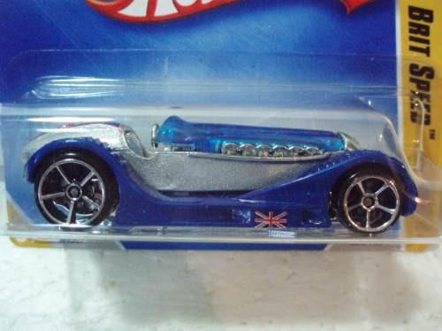 hot wheels brit speed no.004 2009 t.c