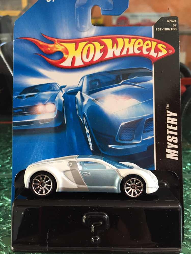 Hot Wheels Bugatti Veyron Mystery No Super Treasure Sth 2019