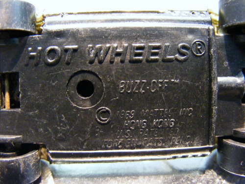 hot wheels - buzz off de 1977    m.i. hong kong