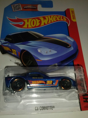 hot wheels c6 corvette